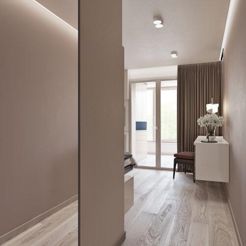 дизайнерский ремонт квартиры спальня