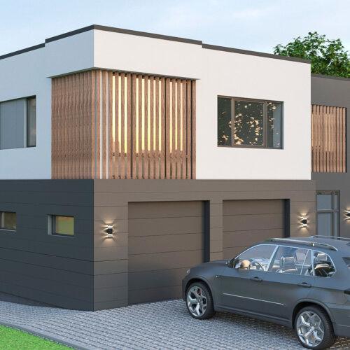 дизайн фасада дома