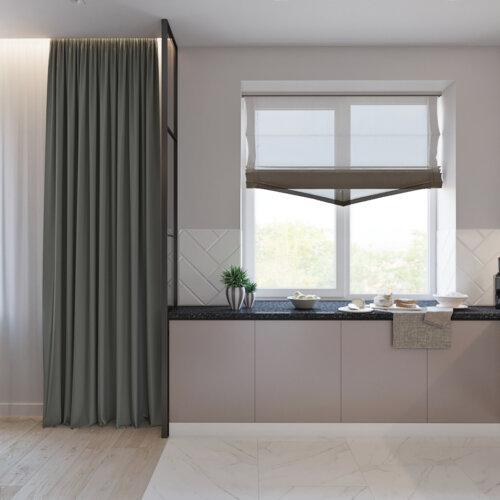 дизайн проект трехкомнатной квартиры