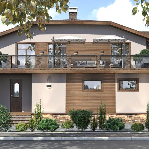 архитектурный дизайн проект дома